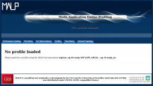 Main page of the MALP Web-Based interface.